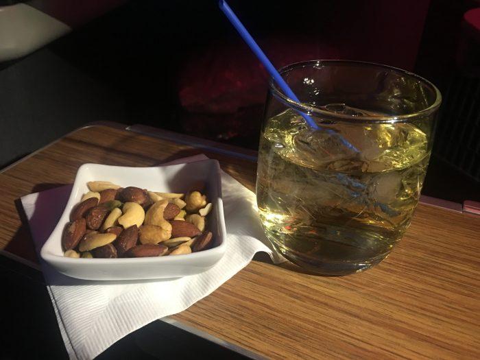 american airlines business class boeing 777 300er los angeles lax to london heathrow lhr warm nuts 700x525 - American Airlines Business Class Boeing 777-300ER Los Angeles LAX to London Heathrow LHR review
