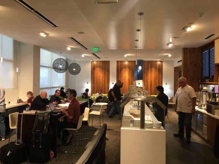 amex centurion studio seatac 700x525 - Amex Centurion Studio Lounge Seattle Sea-Tac review