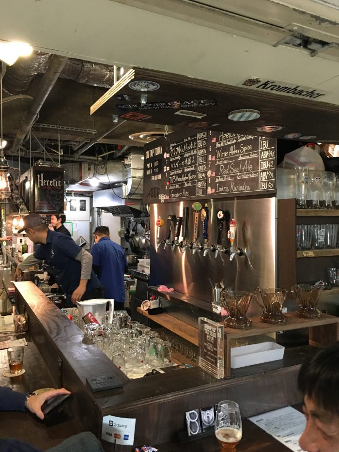 craft beer base bud 700x933 - A layover in Osaka - Ramen, sushi, & exploring the city