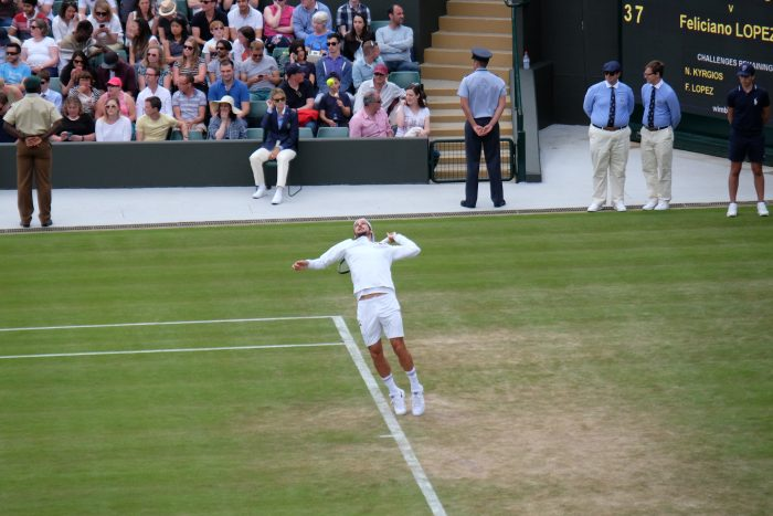 feliciano lopez wimbledon 2016 700x467 - A visit to Wimbledon on People's Sunday 2016