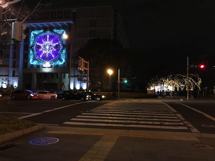 festival of the lights osaka 700x525 - A layover in Osaka - Ramen, sushi, & exploring the city