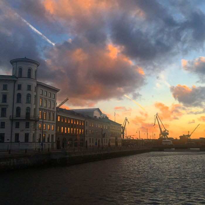 gothenburg sunset 700x700 - Travel Contests: August 17, 2016 - Sweden, Iceland, Dubai & more