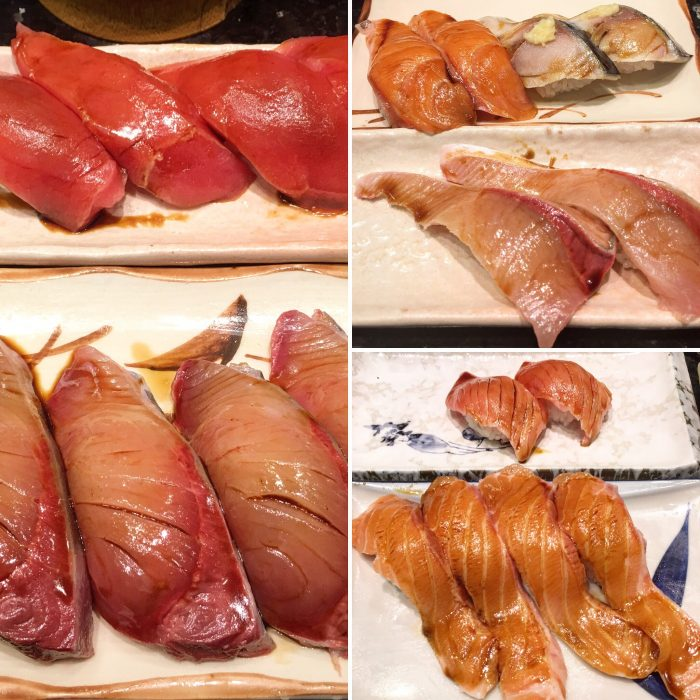 harukoma sushi 700x700 - A layover in Osaka - Ramen, sushi, & exploring the city