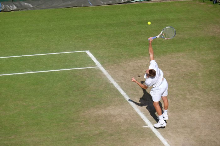 jack sock wimbledon 2016 700x467 - A visit to Wimbledon on People's Sunday 2016