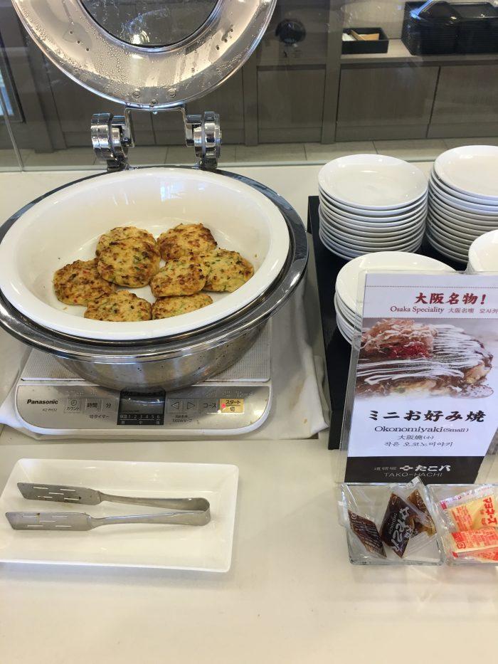 japan airlines sakura lounge osaka okonomiyaki 700x933 - JAL Sakura Lounge Osaka KIX review