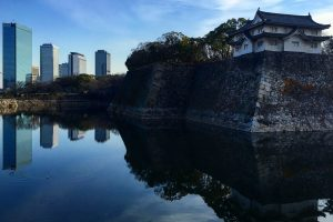 osaka castle 300x200 - A layover in Osaka - Ramen, sushi, & exploring the city