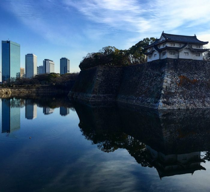 osaka castle 700x641 - Travel Contests: March 7, 2018 - Japan, China, Borneo, & more