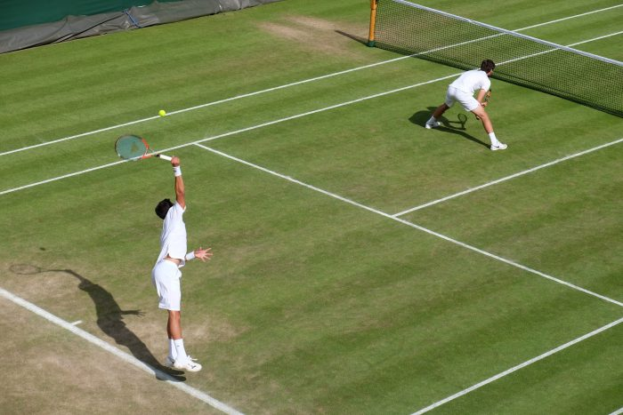 vasek pospisil jack sock wimbledon 2016 700x467 - A visit to Wimbledon on People's Sunday 2016