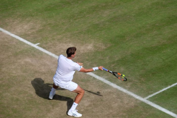 vasek pospisil wimbledon 2016 700x467 - A visit to Wimbledon on People's Sunday 2016