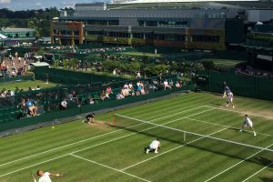 wimbledon grounds court 18 300x200 - A visit to Wimbledon on People's Sunday 2016