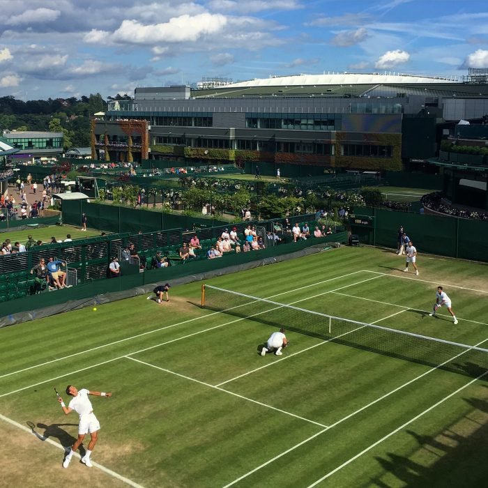 wimbledon grounds court 18 700x700 - A visit to Wimbledon on People's Sunday 2016