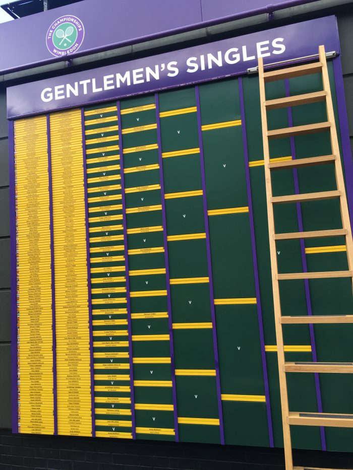 wimbledon mens draw 2016 700x933 - A visit to Wimbledon on People's Sunday 2016
