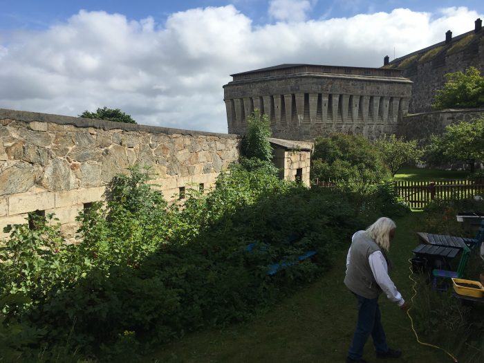 carlstens fastning garden 700x525 - A day trip to Marstrand from Gothenburg including Match Cup Sweden & fortress