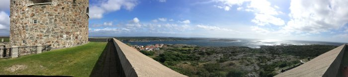 carlstens fastning panorama 700x155 - A day trip to Marstrand from Gothenburg including Match Cup Sweden & fortress