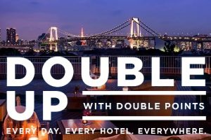 hilton fall 2016 promo 300x200 - Hilton HHonors announces Fall 2016 Double Up promo