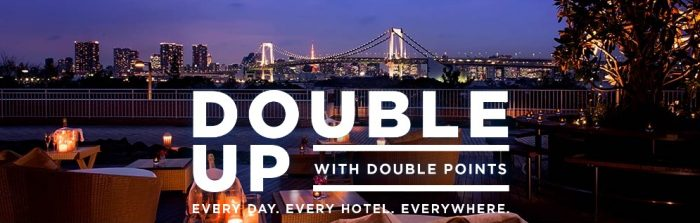 hilton fall 2016 promo 700x223 - Hilton HHonors announces Fall 2016 Double Up promo