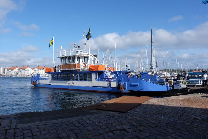 marstrand ferry 700x467 - A day trip to Marstrand from Gothenburg including Match Cup Sweden & fortress