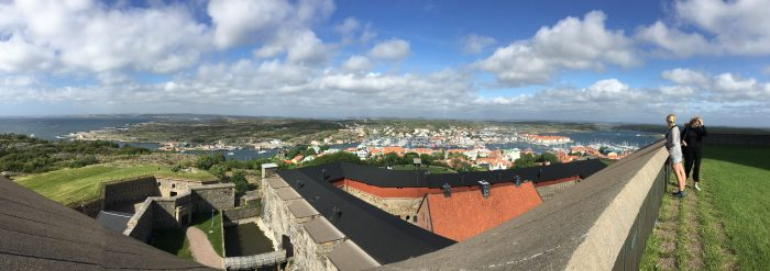 marstrand panorama 700x247 - A day trip to Marstrand from Gothenburg including Match Cup Sweden & fortress
