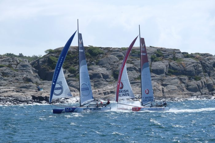 match cup sweden final crash 700x467 - A day trip to Marstrand from Gothenburg including Match Cup Sweden & fortress