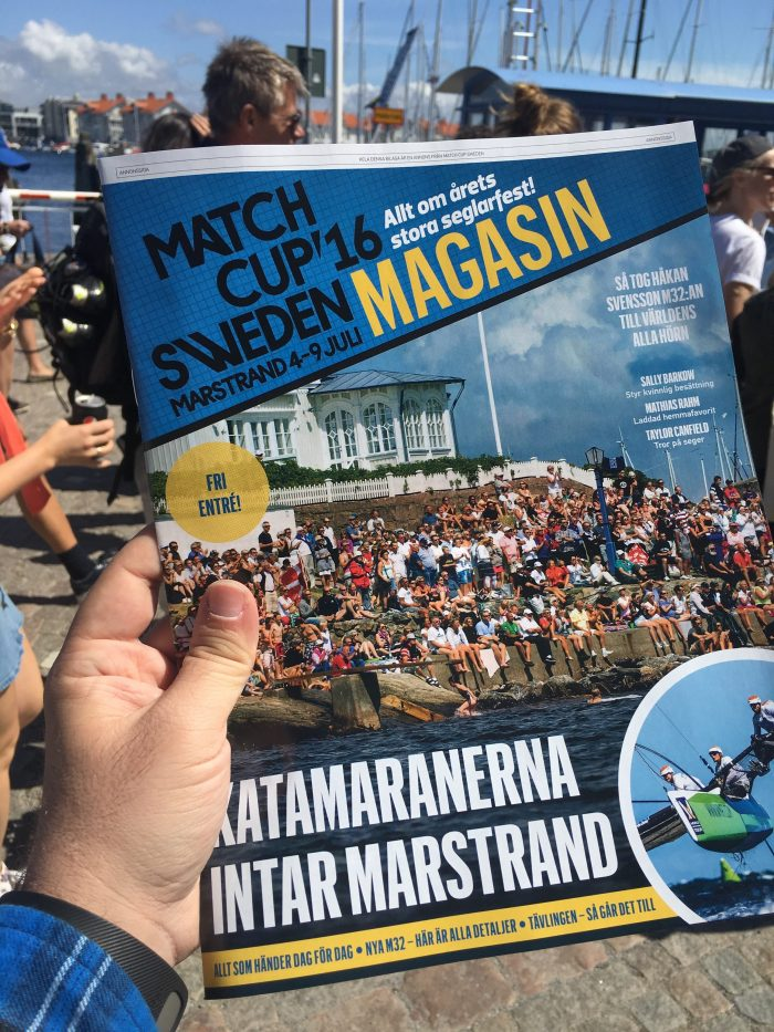 match cup sweden program 700x933 - A day trip to Marstrand from Gothenburg including Match Cup Sweden & fortress
