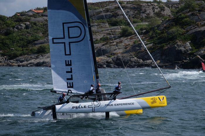 match cup sweden sailboat 700x467 - A day trip to Marstrand from Gothenburg including Match Cup Sweden & fortress