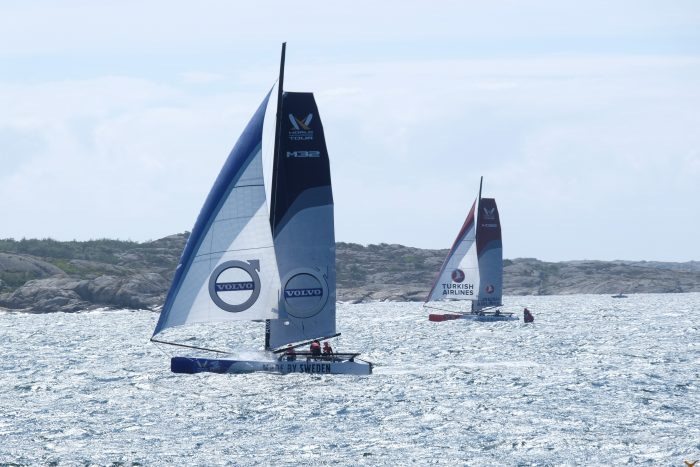 match cup sweden sailing 700x467 - A day trip to Marstrand from Gothenburg including Match Cup Sweden & fortress