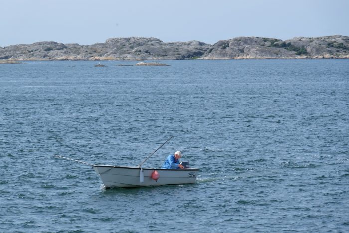 southern archipelago boating 700x467 - A day trip from Gothenburg - Exploring the Southern Archipelago