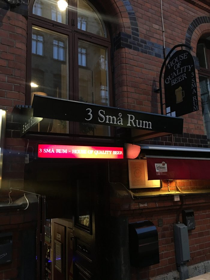 3 sma rum gothenburg sweden 700x933 - The best craft beer in Gothenburg, Sweden