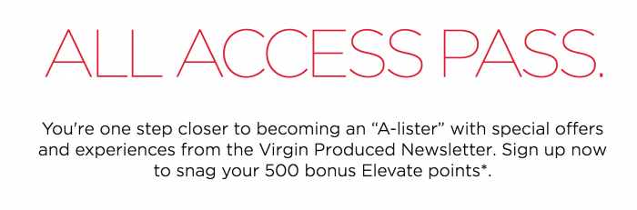 free virgin america points produced emails 700x231 - Get another free 500 Virgin America Elevate points for signing up for a newsletter