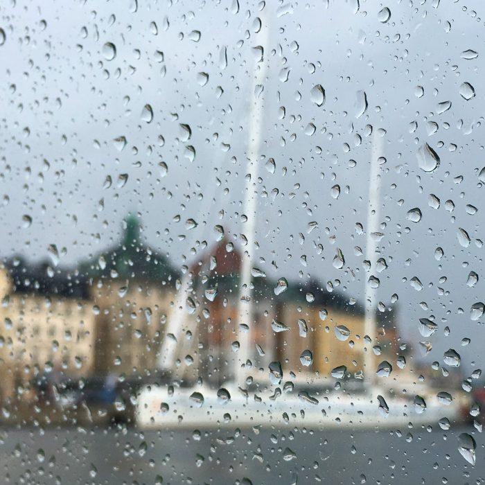 stockholm rain 700x700 - A visit to Fotografiska in Stockholm, Sweden