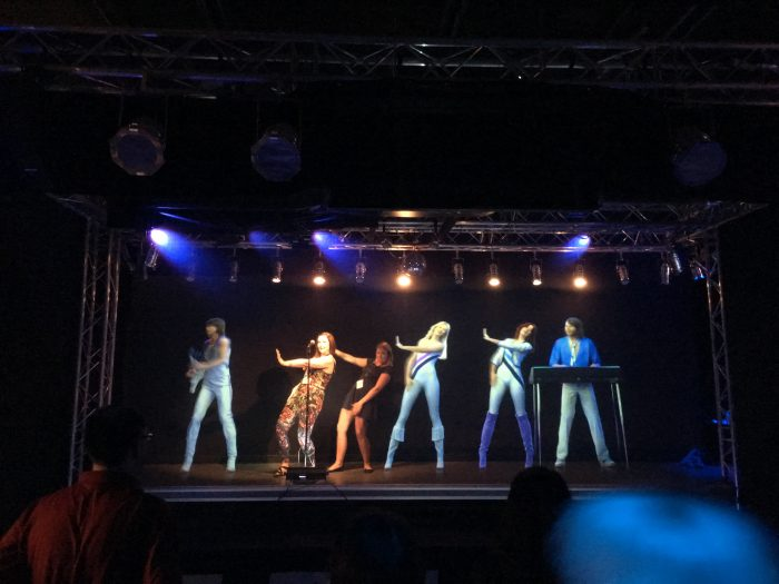 abba museum holograms 700x525 - A visit to the ABBA Museum & Pop House in Stockholm, Sweden