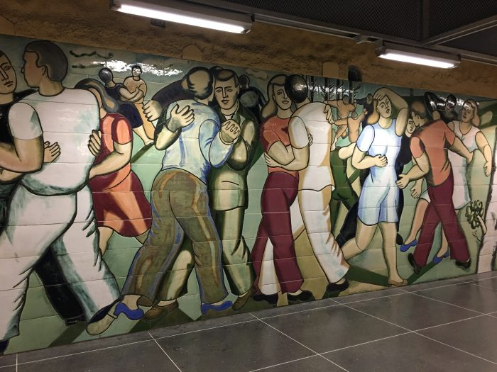 akalla murals 700x525 - Exploring the underground art of Stockholm's Metro system
