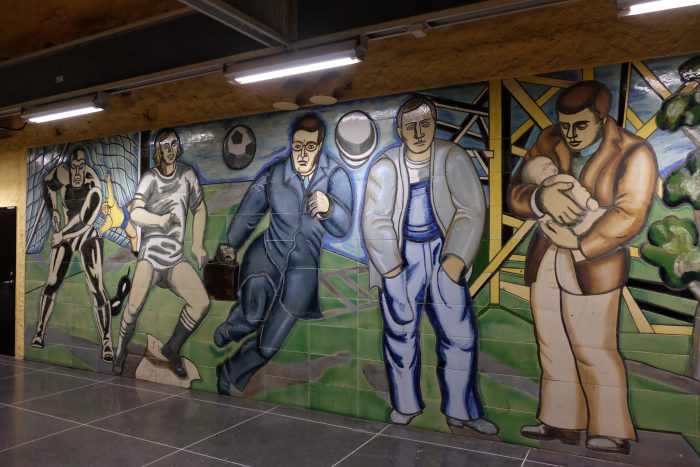 akalla stockholm 700x467 - Exploring the underground art of Stockholm's Metro system
