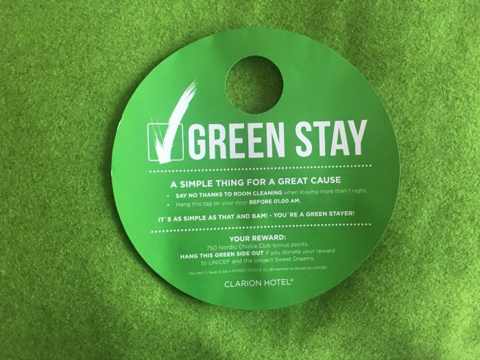 clarion hotel sign green stay free points 700x525 - Clarion Hotel Sign Stockholm, Sweden review