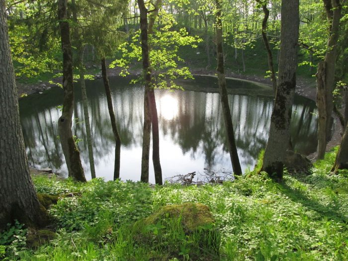 estonia meteorite lake 700x525 - From nature to the table: How Estonia connects to its Deepest Roots