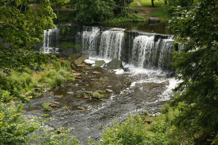 estonia waterfall 700x466 - From nature to the table: How Estonia connects to its Deepest Roots