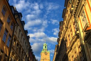 gamla stan sunset 300x200 - A photo walk through Gamla Stan, Stockholm's Old Town