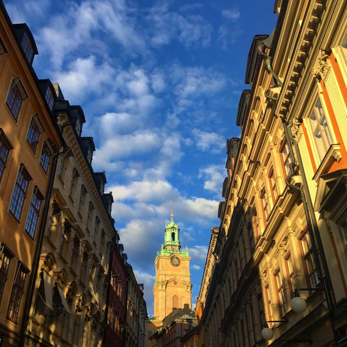 gamla stan sunset 700x700 - Travel Contests: June 28, 2017 - Scandinavia, Colombia, Tokyo, & more