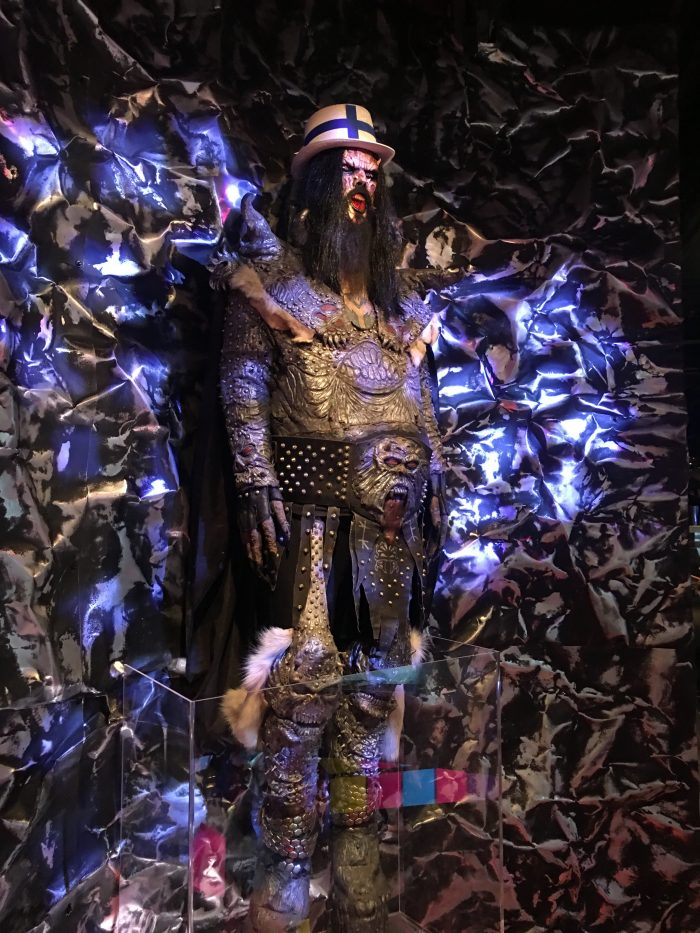lordi costume eurovision 700x933 - A visit to the ABBA Museum & Pop House in Stockholm, Sweden