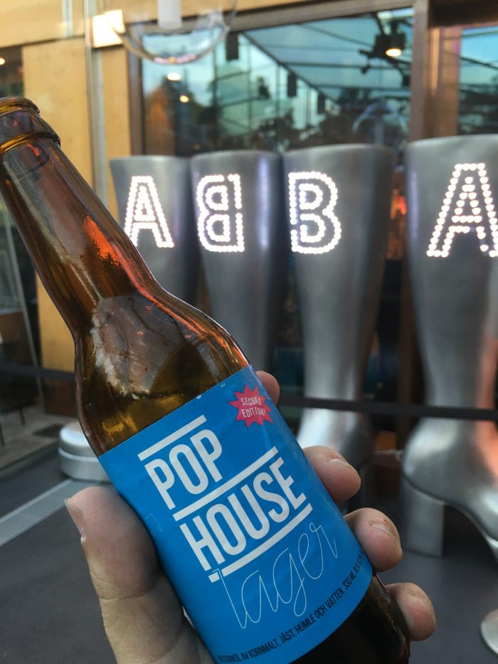 pop house beer 700x933 - A visit to the ABBA Museum & Pop House in Stockholm, Sweden