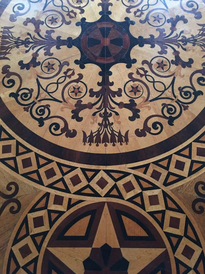 royal palace sweden wood floor 700x933 - A visit to the Swedish Royal Palace in Stockholm