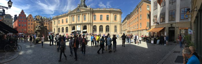 stortorget panorama 700x223 - A photo walk through Gamla Stan, Stockholm's Old Town