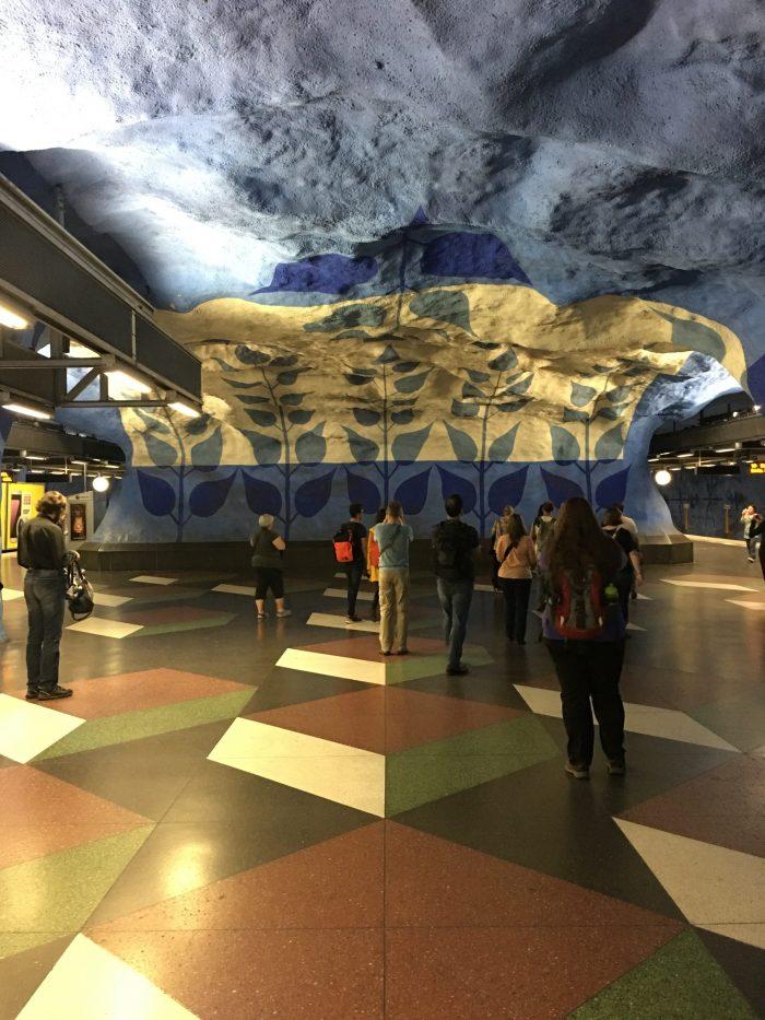 t centralen stockholm 700x933 - Exploring the underground art of Stockholm's Metro system