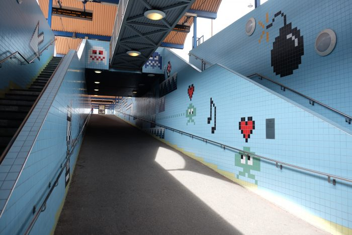 thorlidsplan station 700x467 - Exploring the underground art of Stockholm's Metro system