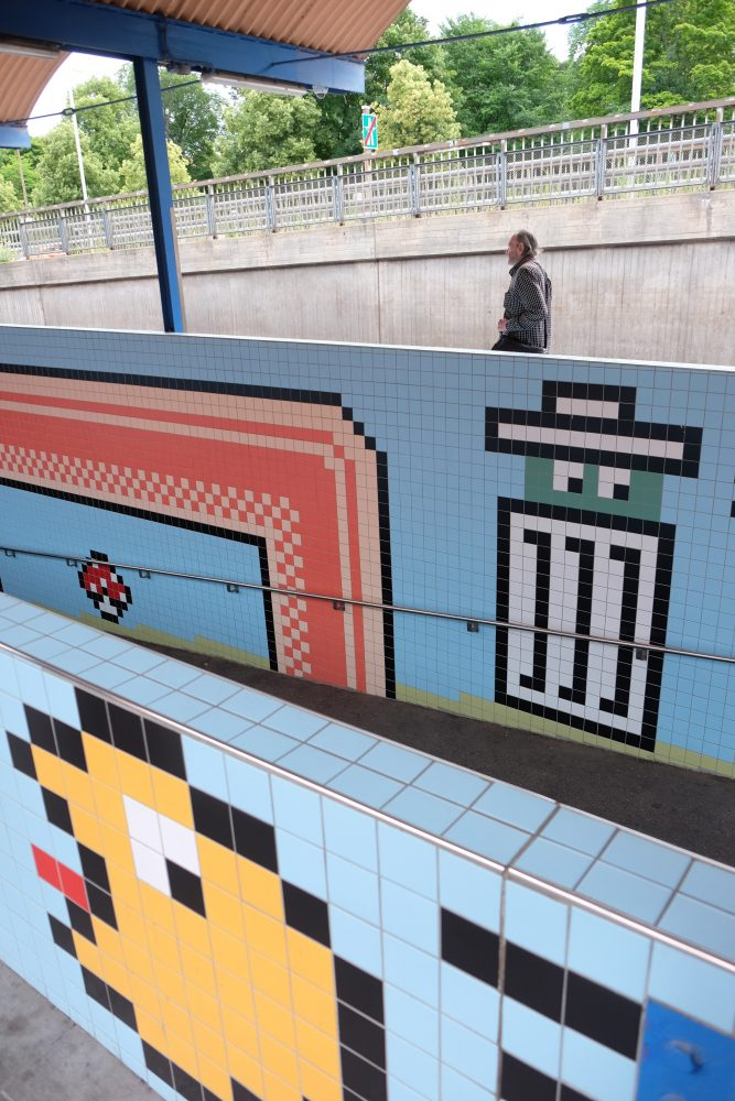 thorlidsplan video games 667x1000 - Exploring the underground art of Stockholm's Metro system