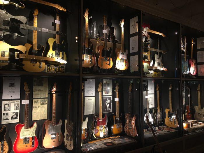 guitar museum umea 700x525 - A photo walk & museum visits in Umeå, Sweden