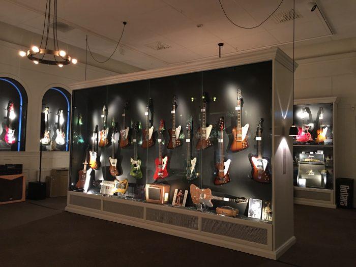 guitars the museum umea 700x525 - A photo walk & museum visits in Umeå, Sweden