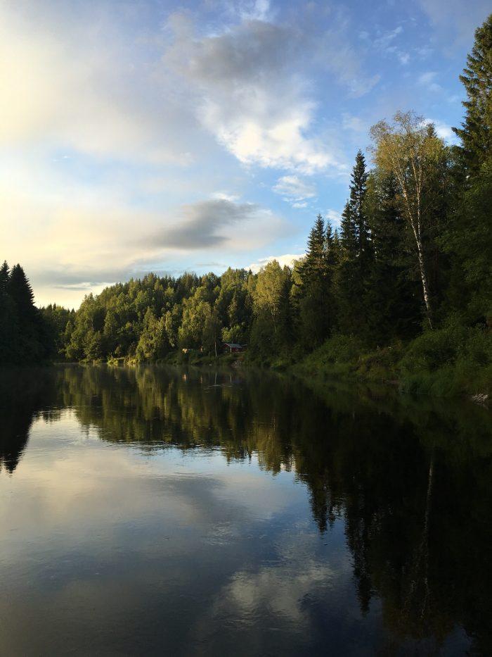 logde river 700x933 - A relaxing visit to Tjarn farmstead in Vasterbotten, Sweden