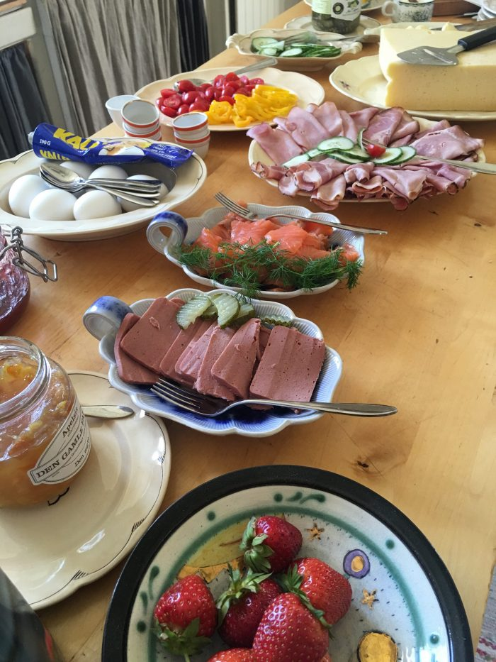 tjarn breakfast 700x933 - A relaxing visit to Tjarn farmstead in Vasterbotten, Sweden