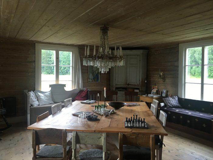 tjarn dining room 700x525 - A relaxing visit to Tjarn farmstead in Vasterbotten, Sweden